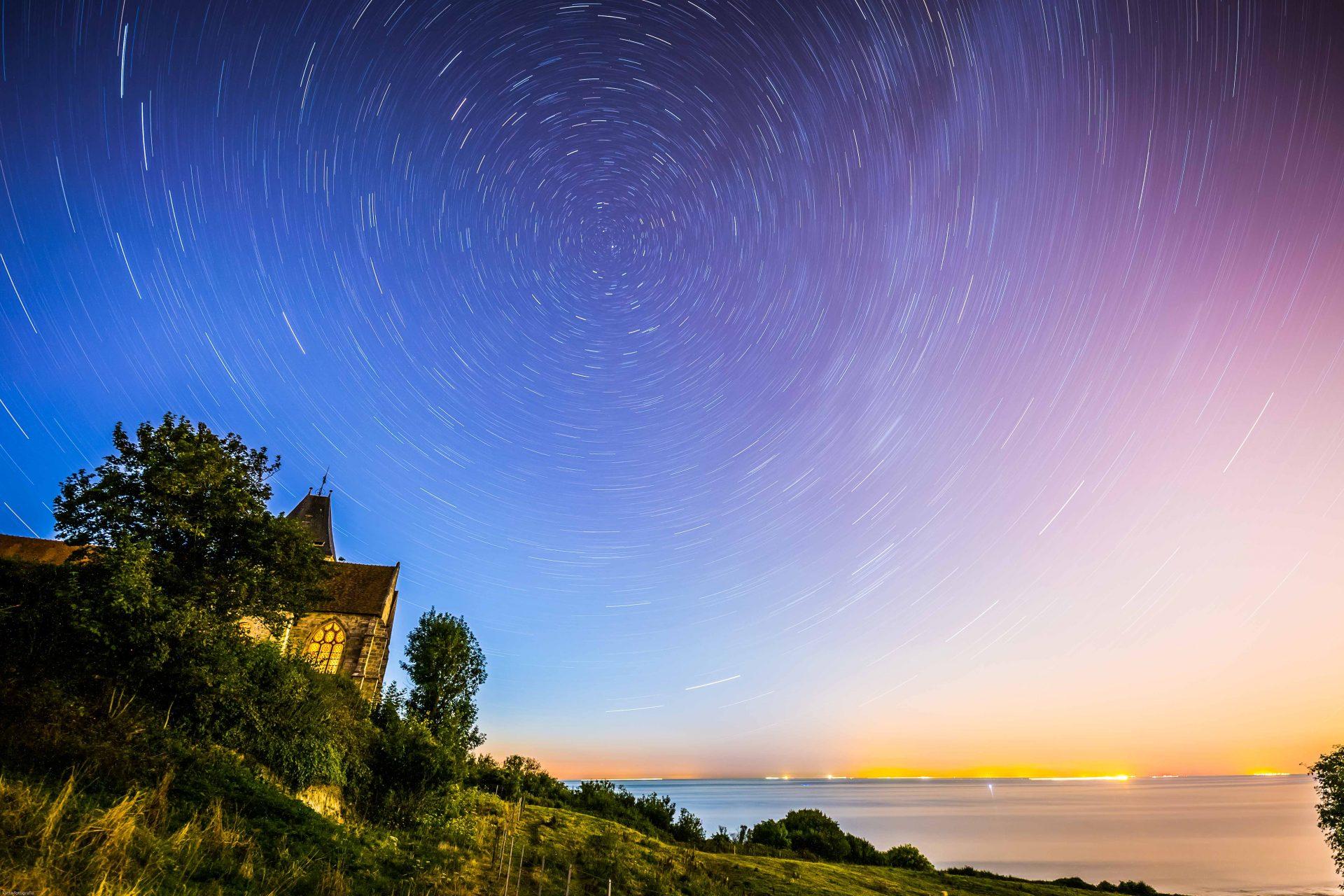 Nuit bleue et 1000 étoiles | Normandie